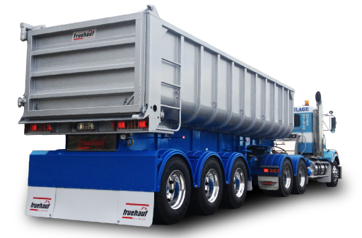 Light Truck Wheels Bathtub Tip Trailers - Fruehauf