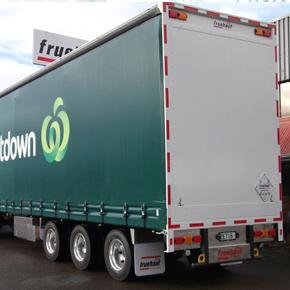 RBC/Curtainsider 9 Axle Truck and Trailer 50 Max