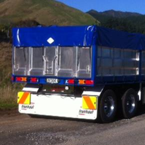 4 axle split tipper