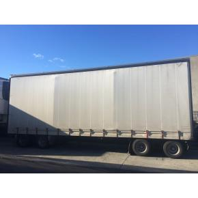 2008 Domett 4-Axle Pull Trailer
